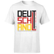 T-Shirt Homme Deutschland / Allemagne Football - Blanc