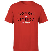 T-Shirt Homme Somos Leyenda Football - Rouge