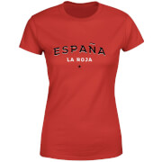 Espana La Roja Women's T-Shirt - Red