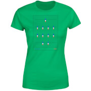 France Fooseball Women's T-Shirt - Kelly Green