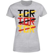 Fussball Weltmeisterschaft TOR TOR TOR Damen T-Shirt - Grau