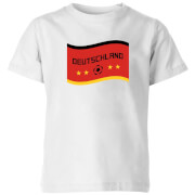 T-Shirt Enfant Deutschland / Allemagne Football - Blanc