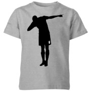 T-Shirt Enfant Célébration Dab Football - Gris