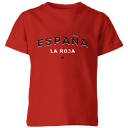 Espana La Roja Kids' T-Shirt - Red