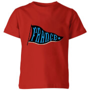 France Pennant Kids' T-Shirt - Red