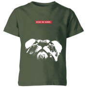 My Little Rascal Hear Me Rawr. Kids' T-Shirt - Forest Green