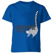My Little Rascal Catch Me If You Can Kids' T-Shirt - Royal Blue