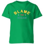 My Little Rascal Blame The Sugar Kids' T-Shirt - Kelly Green