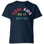 My Little Rascal Cool Kids Do It Better Kids' T-Shirt - Navy