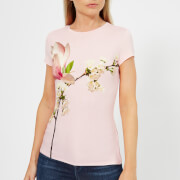 Ted Baker Women's Ameliza Harmony Fitted T-Shirt - Pl-Pink