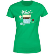 Infographic White Russian Women's T-Shirt - Kelly Green