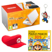 New Nintendo 2DS XL Mario Maker Pack