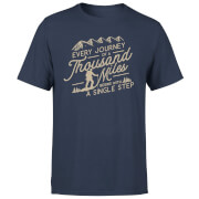 Every Journey Begins With A Single Step Men's T-Shirt - Navy