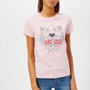 KENZO Women's Classic Tiger Single T-Shirt - Pale Pink