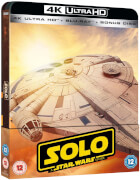 Solo: A Star Wars Story 4K Ultra HD (avec Version 2D) - Steelbook Exclusif Limité pour Zavvi (Édition UK)