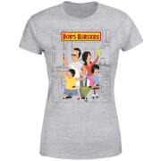 Bobs Burgers Family Business  Women's T-Shirt - Grey