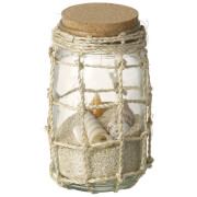 Parlane Glass Jar With Shells