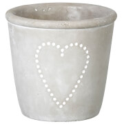 Parlane Concrete Heart Planter