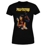 T-Shirt Femme Affiche Pulp Fiction - Noir