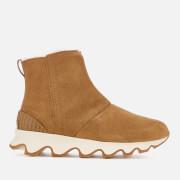 Sorel Women's Kinetic Short Boots - Camel Brown/Natural