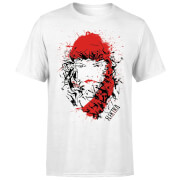 Marvel Knights Elektra Face Of Death Men's T-Shirt - White