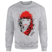 Marvel Knights Elektra Face Of Death Sweatshirt - Grey