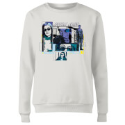 Marvel Knights Jessica Jones Comic Panels Women's Sweatshirt - White