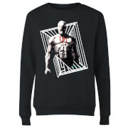 Marvel Knights Daredevil Cage Women's Sweatshirt - Black