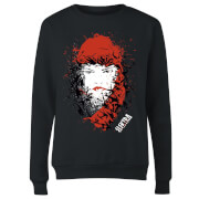 Marvel Knights Elektra Face Of Death Women's Sweatshirt - Black