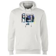 Marvel Knights Jessica Jones Comic Panels Hoodie - White