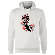 Marvel Knights Daredevil Layered Faces Hoodie - White