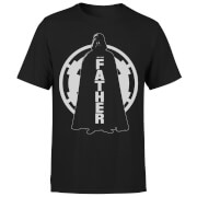 Star Wars Darth Vader Father Imperial Men's T-Shirt - Black