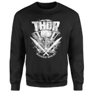 Sudadera Marvel Thor Ragnarok Martillo de Thor - Hombre - Negro