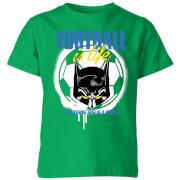 DC Batman Football Is Life Kids' T-Shirt - Kelly Green