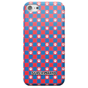 Nintendo Super Mario Checkerboard Pattern Smartphone Schutzhülle for iPhone and Android