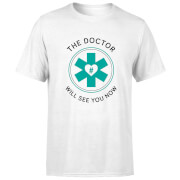 THE DOCTOR Men's T-Shirt - White