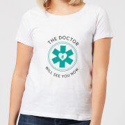 THE DOCTOR Women's T-Shirt - White