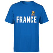 Toffs France Country Men's T-Shirt - Royal Blue