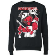 Marvel Deadpool Max Women's Sweatshirt - Black