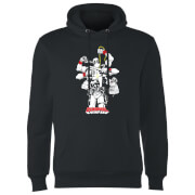 Sweat à Capuche Homme Deadpool Multitasking Marvel - Noir