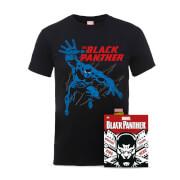 Lot Black Panther Marvel Comics - T-Shirt et Comics