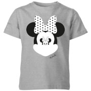 Disney Minnie Mouse Mirror Illusion Kids' T-Shirt - Grey