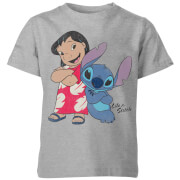 Disney Lilo & Stitch Classic Kids' T-Shirt - Grey