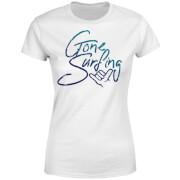 Gone Surfing Women's T-Shirt - White