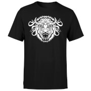 American Gods Buffalo Head Men's T-Shirt - Black