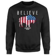 American Gods Believe In Bull Sweatshirt - Black