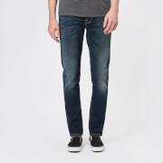 Nudie Jeans Men's Lean Dean Tapered Jeans - Dark Blues