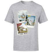 Frozen Olaf Polaroid Men's T-Shirt - Grey