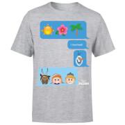 T-Shirt Homme La Reine des Neiges - SMS - Gris
