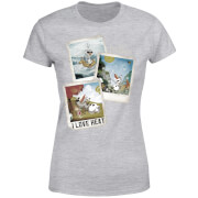 Frozen Olaf Polaroid Women's T-Shirt - Grey
